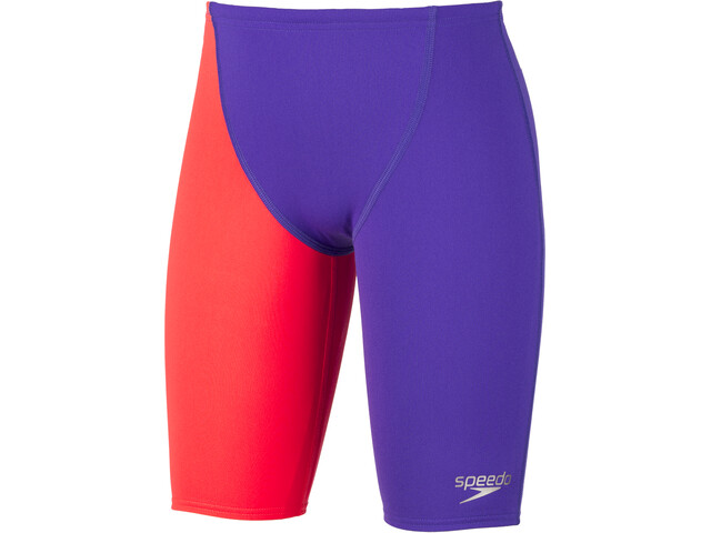 speedo Fastskin Endurance+ High Waist Caleçon de bain Garçon, purple/red